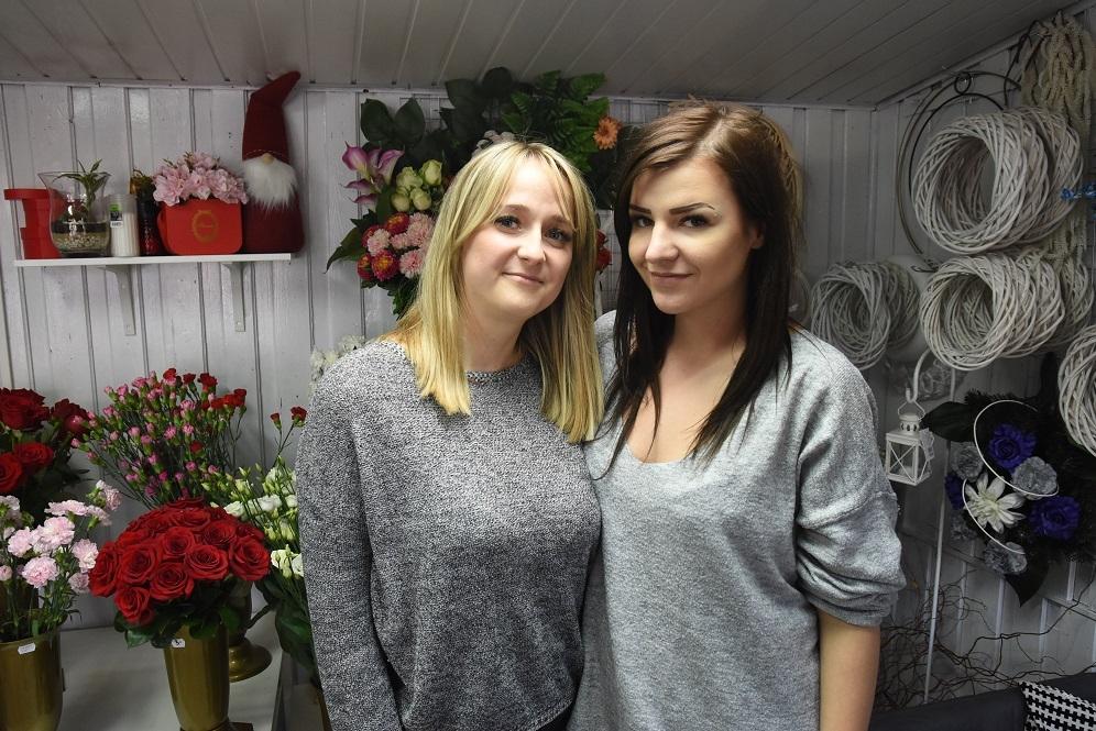 Na zdjęciu: od lewej panie Ewelina i Alicja